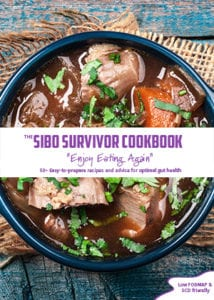 SIBO Survivor Cookbook