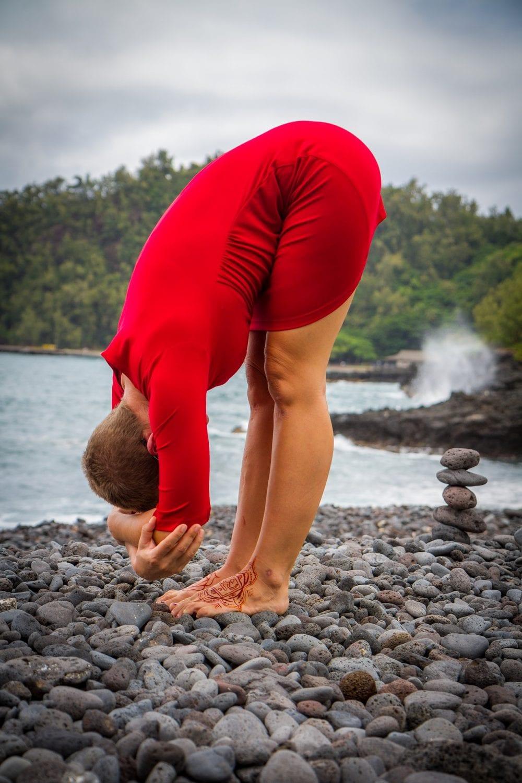 chakra yoga posture
