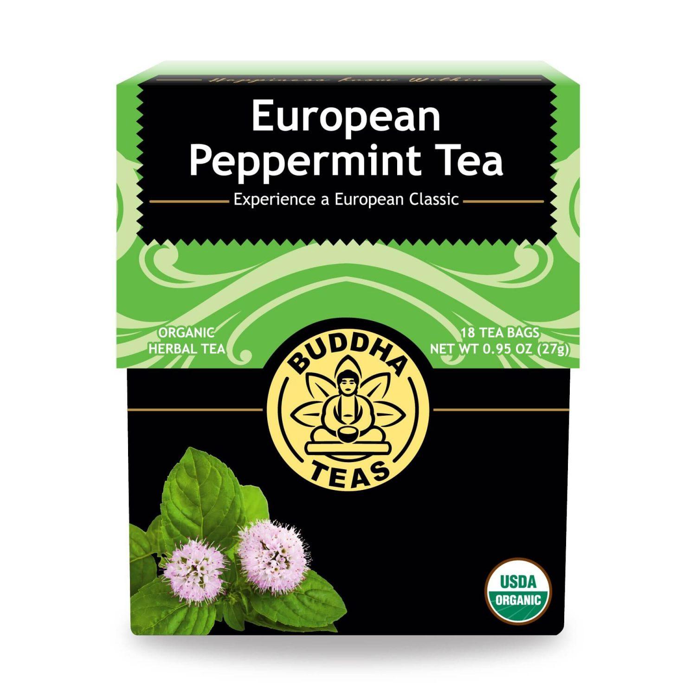 buddha peppermint tea