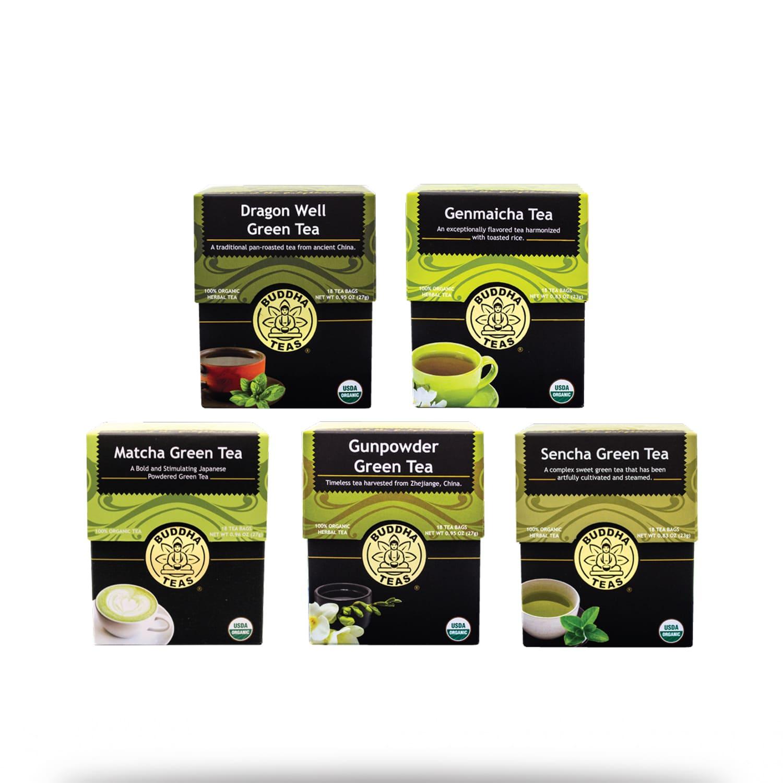 buddha green tea bundle