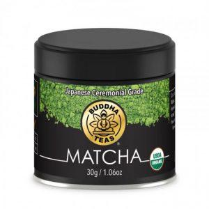 buddha matcha green tea