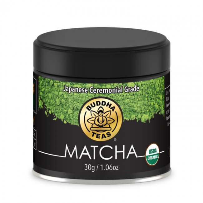 buddha matcha green tea