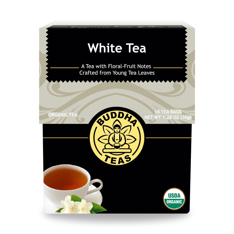 buddha white tea bag