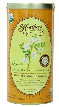 heathers acacia fiber prebiotic supplement