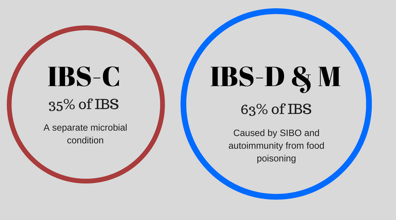Types of IBS and SIBO