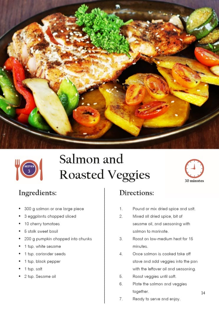 Salmon and Roasted Veggies