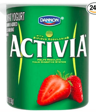 activia probiotic yogurt for SIBO